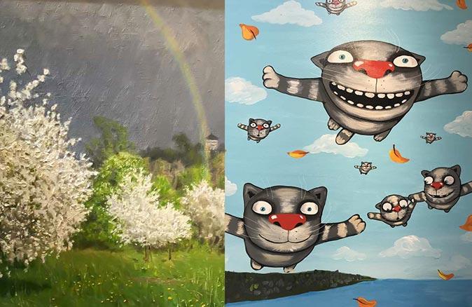 Çağdaş Rus resim sanatı Muratpaşa'da