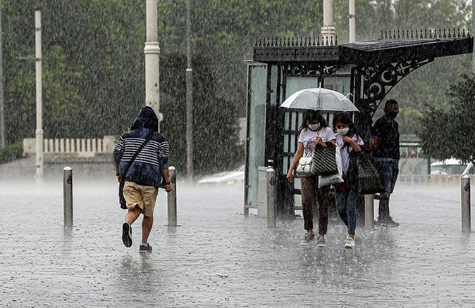 Meteoroloji'den birçok ile sağanak yağış uyarısı