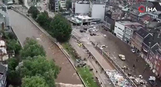 Avrupa'daki sel felaketinde can kaybı 168'e yükseldi