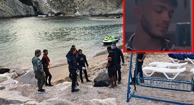 Şile'de denizde kaybolan Ömer Hadi Can'ın cansız bedenine ulaşıldı