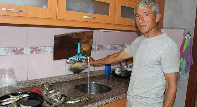 Gazipaşa'da Yiğit ailesinin 12 yıllık içme suyu sorunu çözüldü