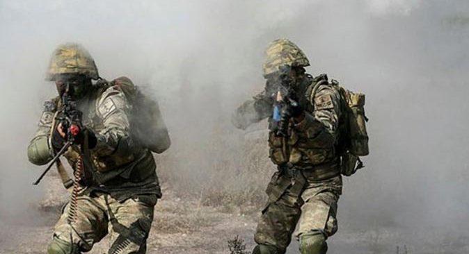 Barış Pınarı bölgesine saldıran 5 terörist etkisiz hale getirildi