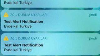 iPhone kullanıcılarını korkutan 'Evde kal Türkiye' mesajı hakkında Vodafone'dan açıklama