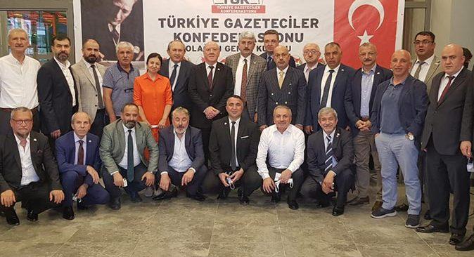 Nuri Kolaylı yeniden TGK başkanlığına seçildi