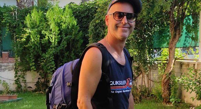 45 yaşındaki Daniel Peracaula Akdeniz ve Ege'yi otobüsle geziyor