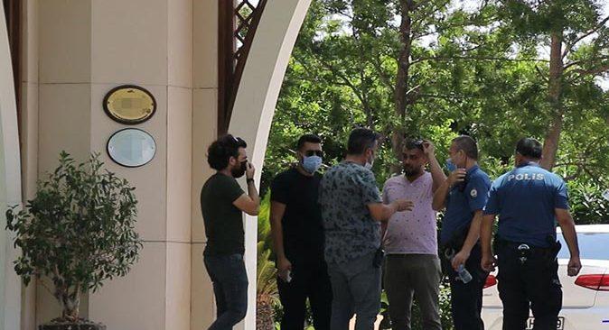 Antalya'da turistlerin sözleri polisi harekete geçirdi!
