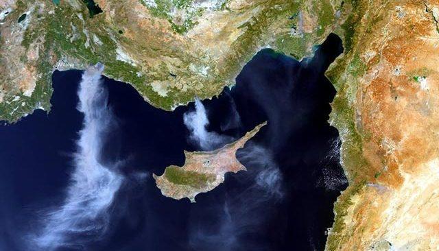 Antalya'daki yangınlar uydudan da görüntülendi