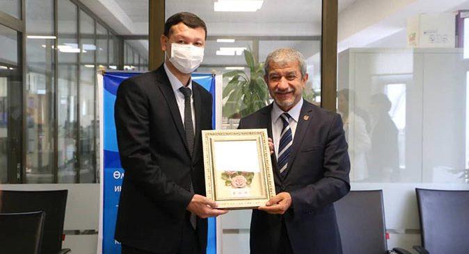 Kırgızistan'dan AGC Başkanı Yeni'ye işbirliği mektubu