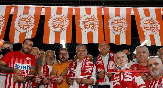 Antalyaspor Taraftarı Lokali törenle açıldı