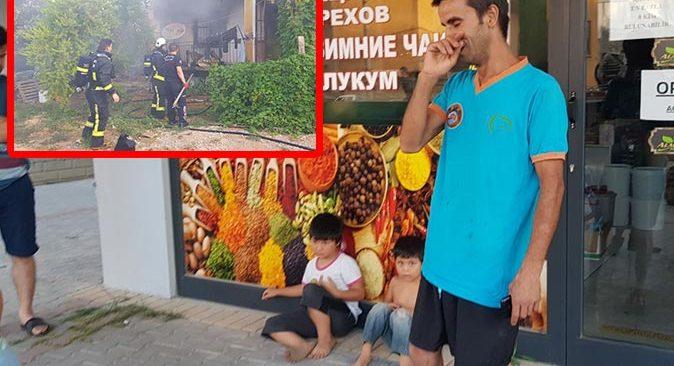 4 yaşındaki Hasan'ın dikkati ailesini yanmaktan kurtardı