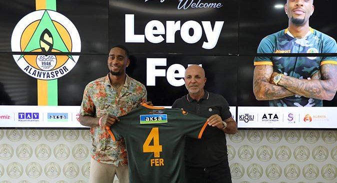 Alanyaspor, Leroy Fer ile sözleşme imzaladı