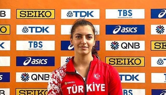 ALKÜ'LÜ sporcu Eda Tuğsuz, ciritte dünya 8. oldu