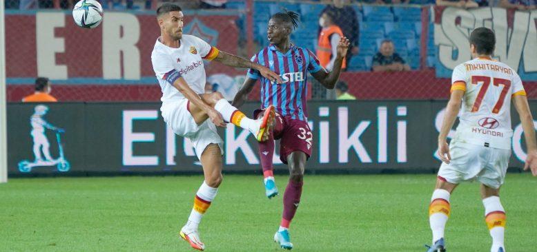 Trabzonspor, evinde Roma'ya mağlup oldu