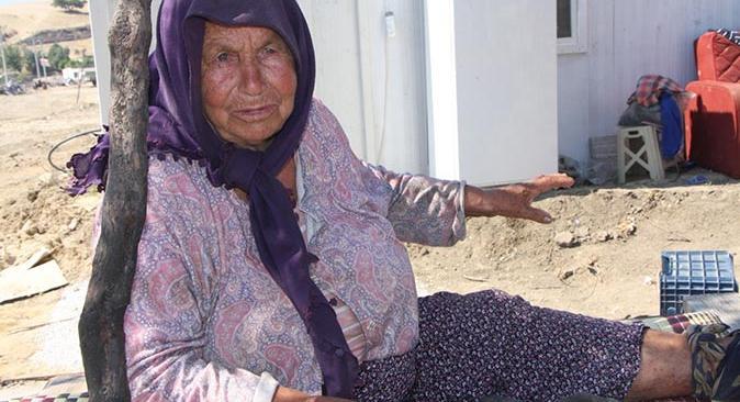Manavgat'taki yangında Ümmühani Deniz ve Gülsüm Deniz canlarını zor kurtardı