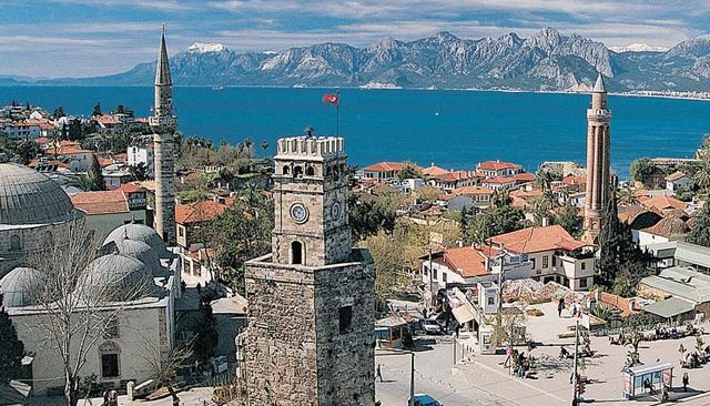 21 Ağustos Cumartesi Antalya'da hava durumu...
