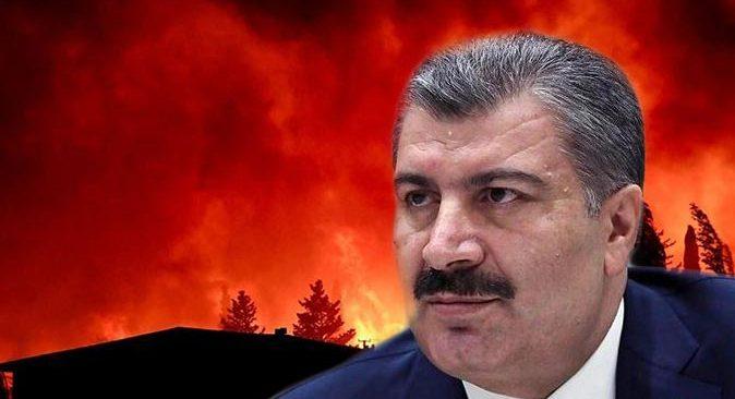 Bakan Fahrettin Koca açıkladı! Antalya'da yangından etkilenen vatandaşların son durumu