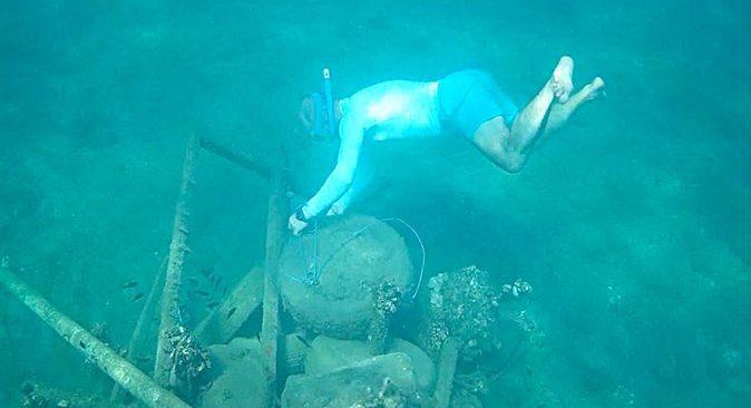 Dr. Halit Cenan Mertol'dan deniz altındaki atıklardan balıklara yapay resif