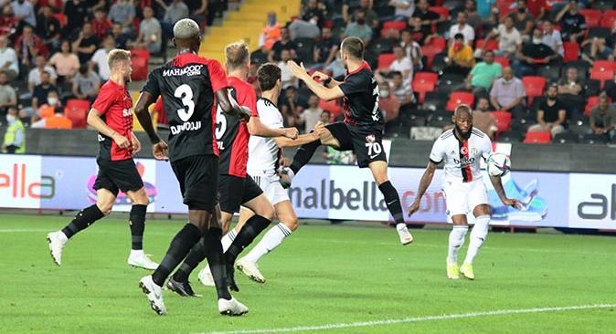 Beşiktaş Gaziantep ile berabere kaldı
