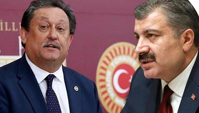 CHP Antalya Milletvekili Aydın Özer'den Bakan Koca'ya soru önergesi