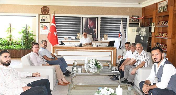 Milletvekili Feridun Bahşi'den, Başkan Necati Topaloğlu'na ziyaret