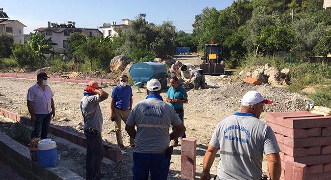 Göynük Mahallesi'nde çalışmalar devam ediyor