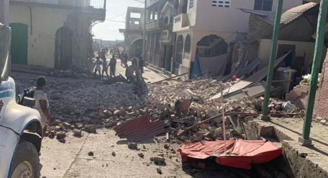 Haiti'de depremde felaketi! Can kaybı 227'ye yükseldi