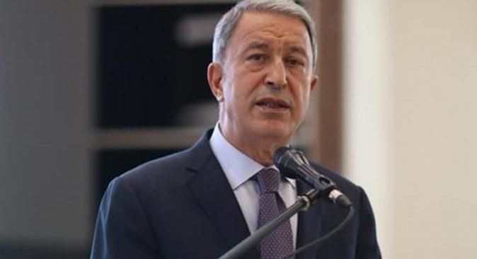 SON DAKİKA! Bakan Hulusi Akar: Türkiye'yi sınırlamak için elinden gelen gayreti gösteriyor