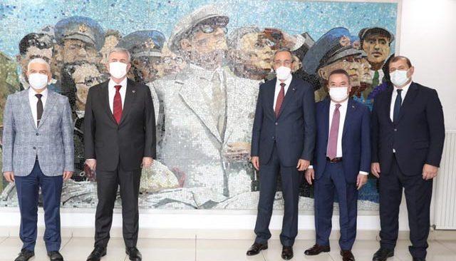 Başkan Böcek Ankara'da THK işbirliği protokolü ön toplantısına katıldı