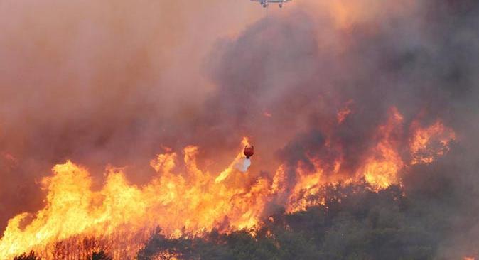 İletişim Başkanlığı duyurdu! 12 yangın devam ediyor