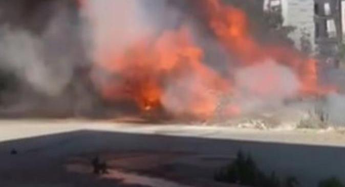 Antalya'da otomobil patladı! Vatandaşlar büyük panik yaşadı