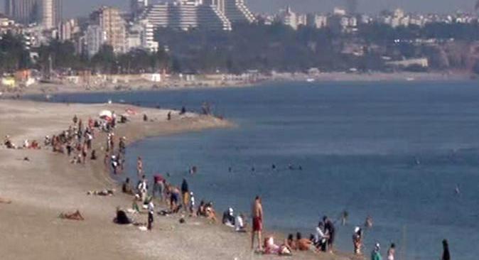 Antalya'da sıcaklık 1 ila 3 derece azalacak