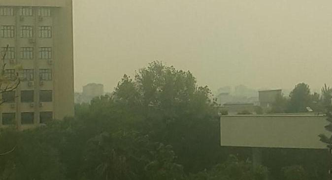 Son dakika... Antalya'ya kül yağdı
