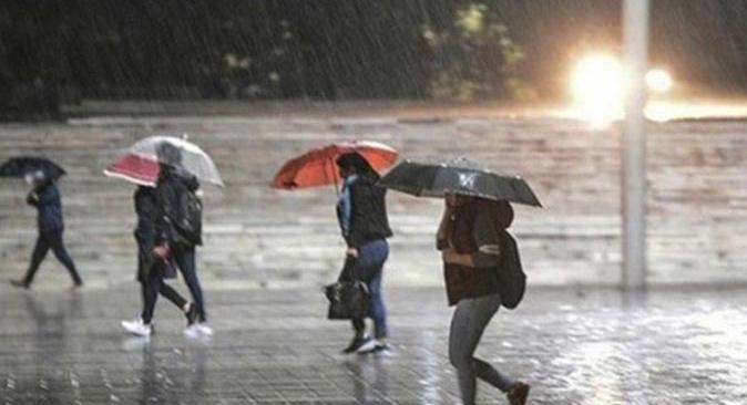 Meteoroloji'den Antalya'daki 7 ilçeye yağmur uyarısı