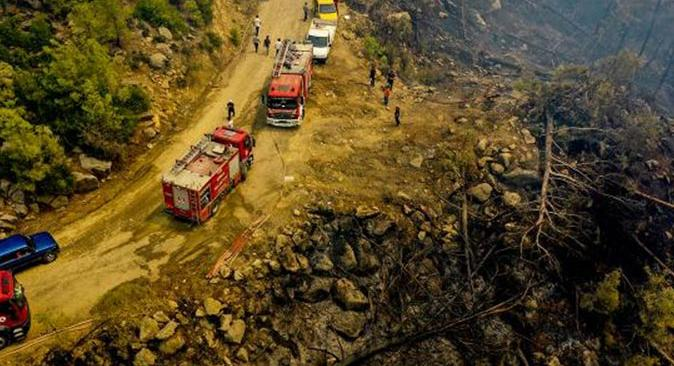 Son dakika... Manavgat ve Gündoğmuş yangınları kontrol altına alındı