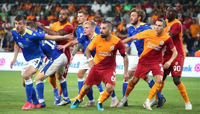 Galatasaray, St. Johnstone'u deplasmanda 4-2 mağlup etti