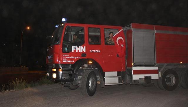 Azerbaycan'dan Antalya ve Muğla'ya destek