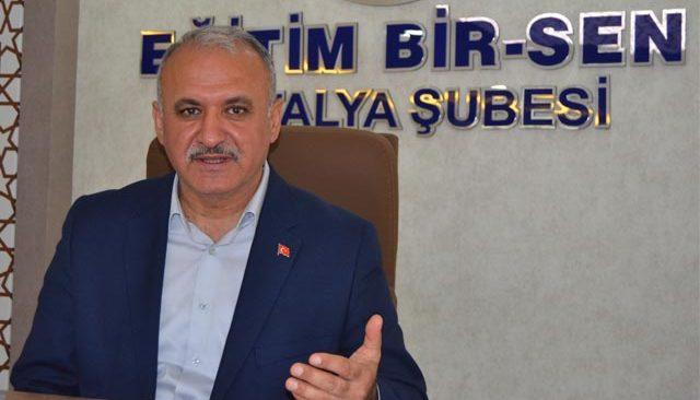 Eğitim Bir-Sen Antalya Şube Başkanı Miran: