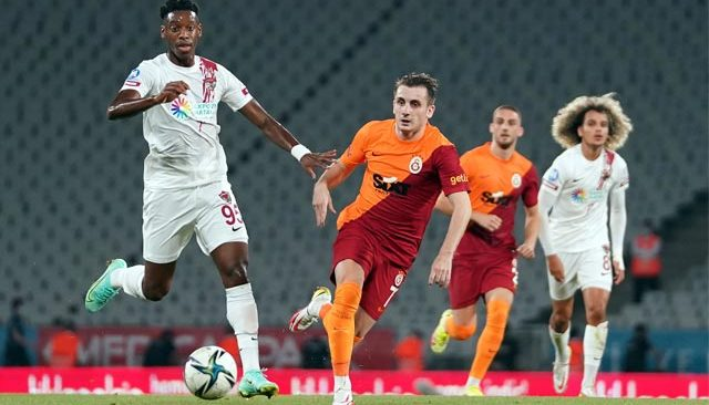 Galatasaray 2'de 2 yaptı! Hatay bu haftada boş geçti