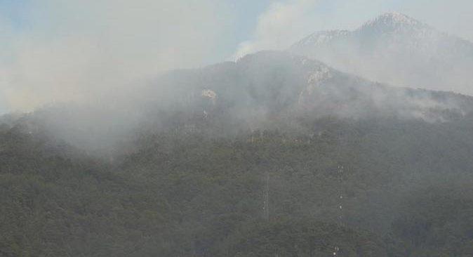 Gündoğmuş'ta dumanlar ekipleri ve vatandaşları yeniden alarma geçirdi