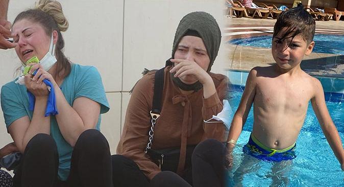 Antalya'da 8 yaşındaki Ali Kemal Güler çocuk havuzunda boğuldu