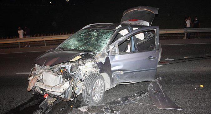 Antalya'da otomobil takla attı! Alkollü sürücü hafif yaralandı
