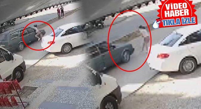 Manavgat'ta otomobil 9 yaşındaki çocuğa çarptı