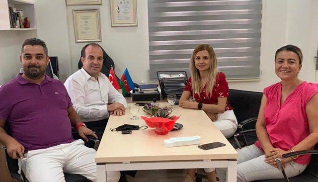 AK Parti Konyaaltı Teşkilatından, Azerbaycan Halklar Dostluğu Derneği'ne teşekkür ziyareti