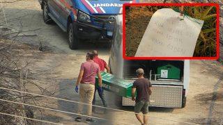 Manavgat'ta cansız bedenlerine ulaşılan çifte yazılan not yürekleri sızlattı