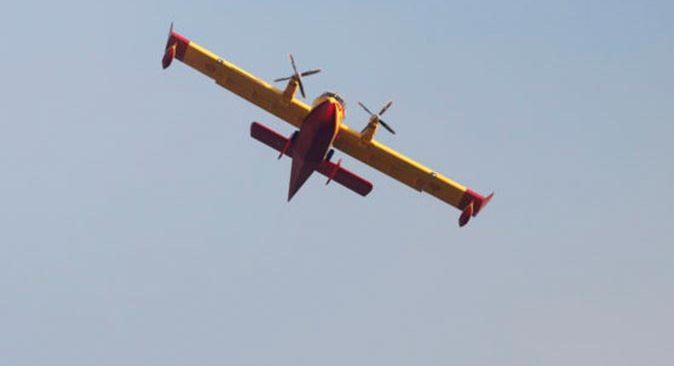 SON DAKİKA! Kahramanmaraş'ta yangın söndürme uçağı düştü