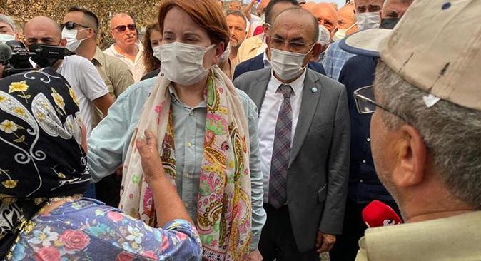 İYİ Parti İl Başkanı Mehmet Başaran: Yangın sahasında halkın yanındayız