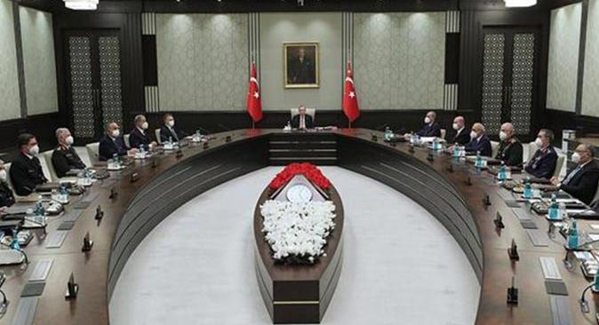 SON DAKİKA! Milli Güvenlik Kurulu toplantısı sona erdi