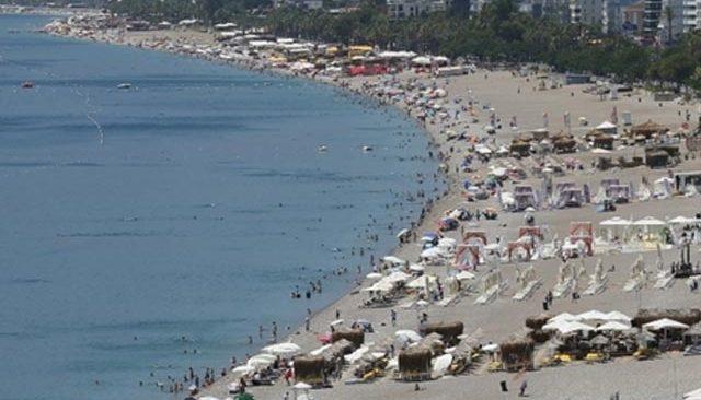 Antalya için yüksek sıcaklık uyarısı