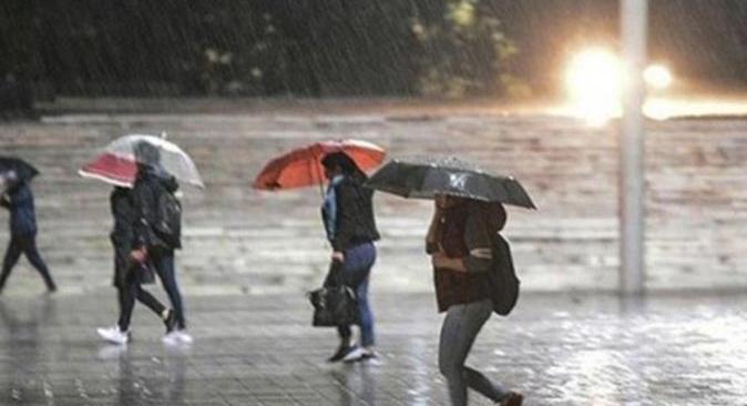 Meteoroloji'den 6 bölge için sağanak yağış uyarısı