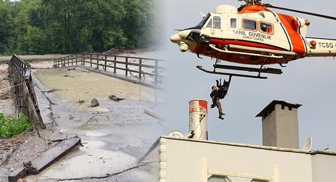 Sinop, Kastamonu ve Bartın'daki sel felaketinde son durum! 4 kişi hayatını kaybetti